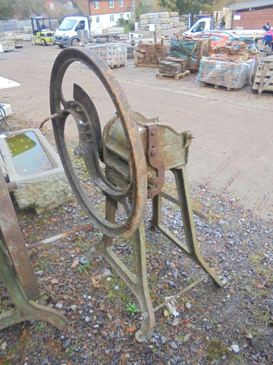 Reclaimed Metal Farm Equipment