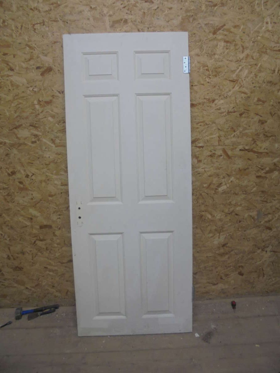 Classic 6 Panel White Painted Door