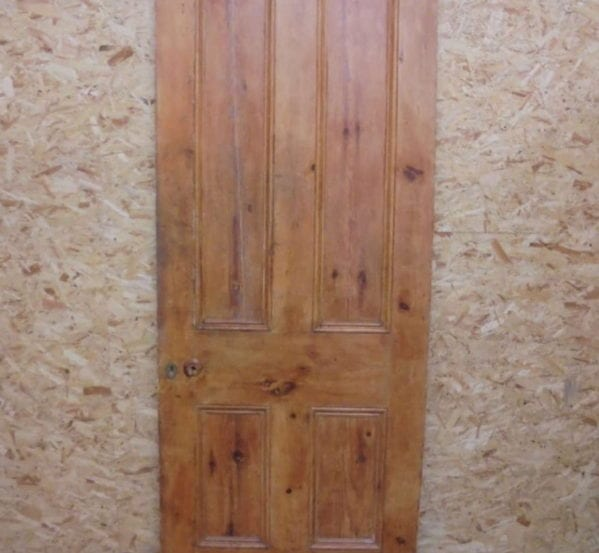 Vintage Stripped 4 Panel Door