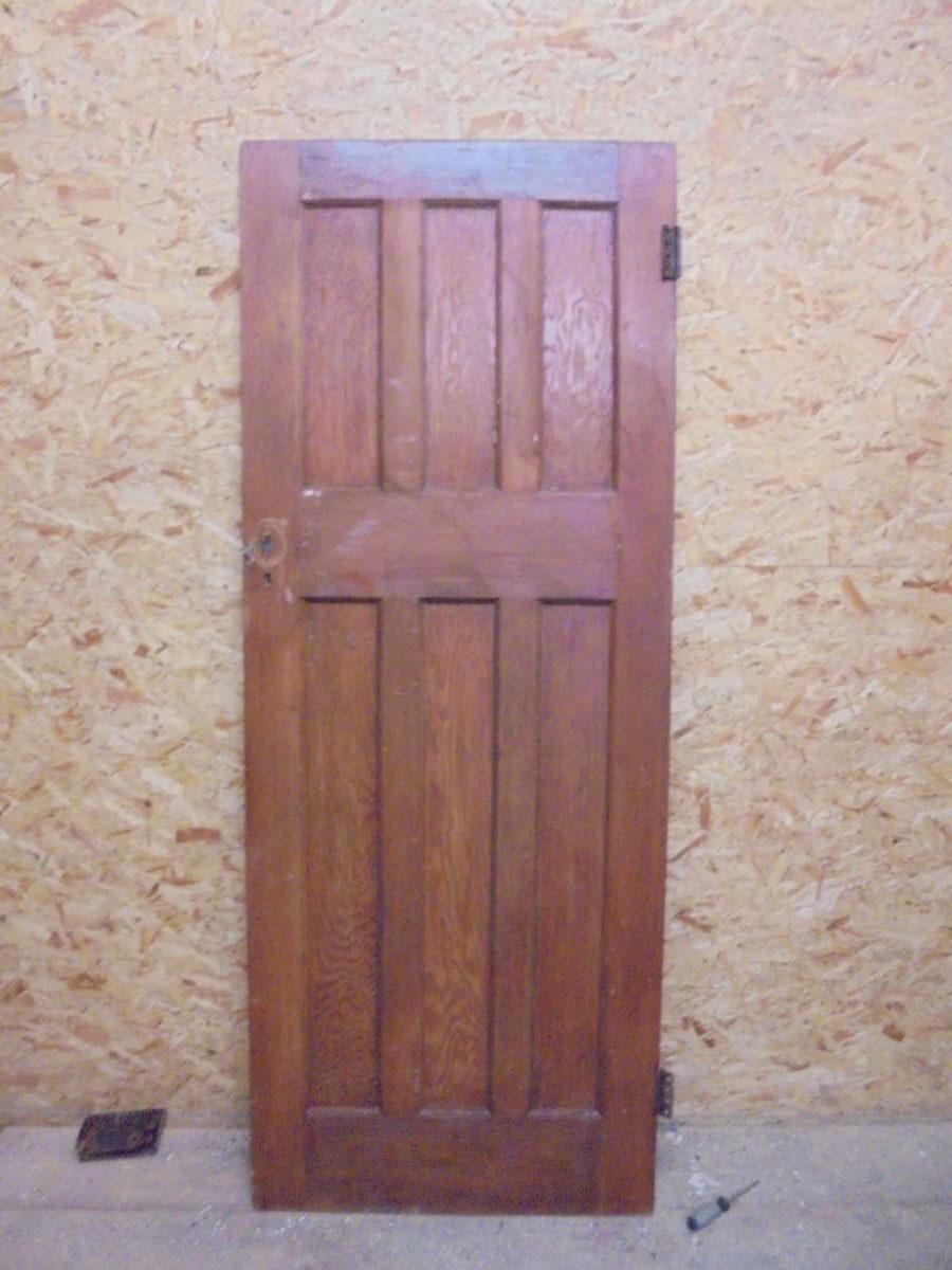 Beautiful Stripped 6 Panelled Door