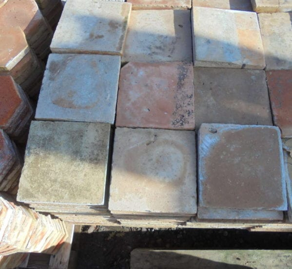 Terracotta Reclaimed Floor Tiles