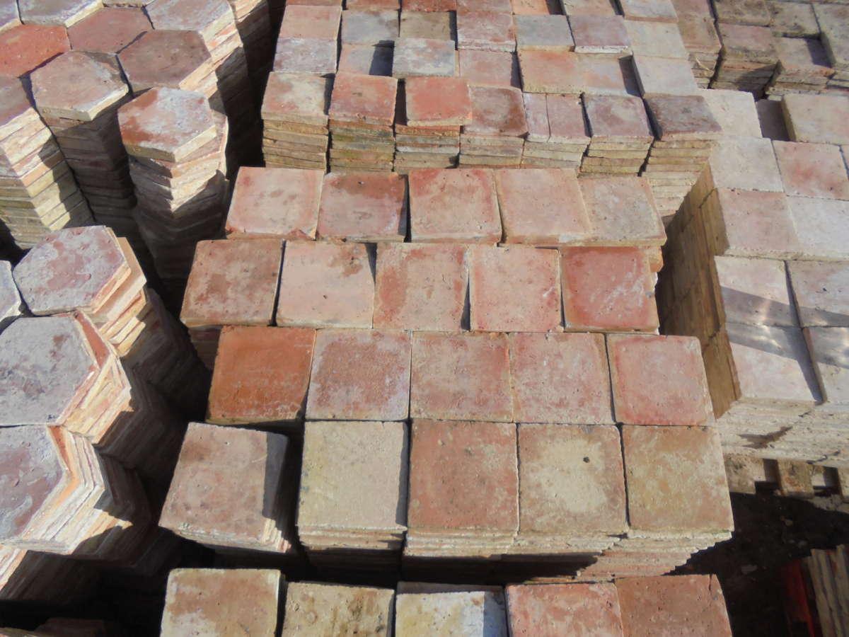 Floor Tiles English Terracotta
