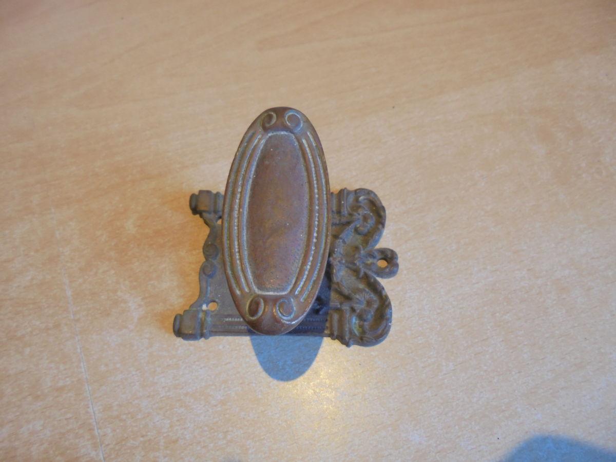 Ornate Frame Back Plate Door Knob