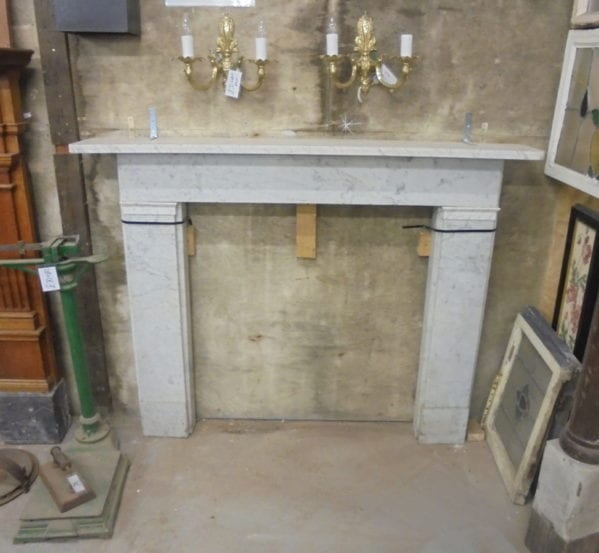 White Marble Fire Surround