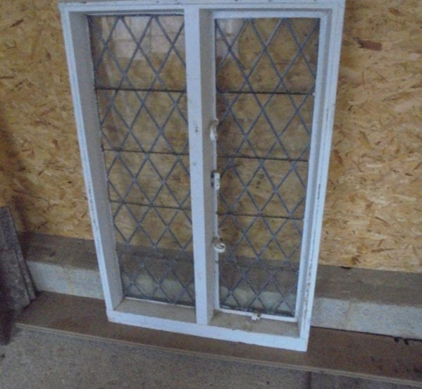 Diamond Lead Window Pair