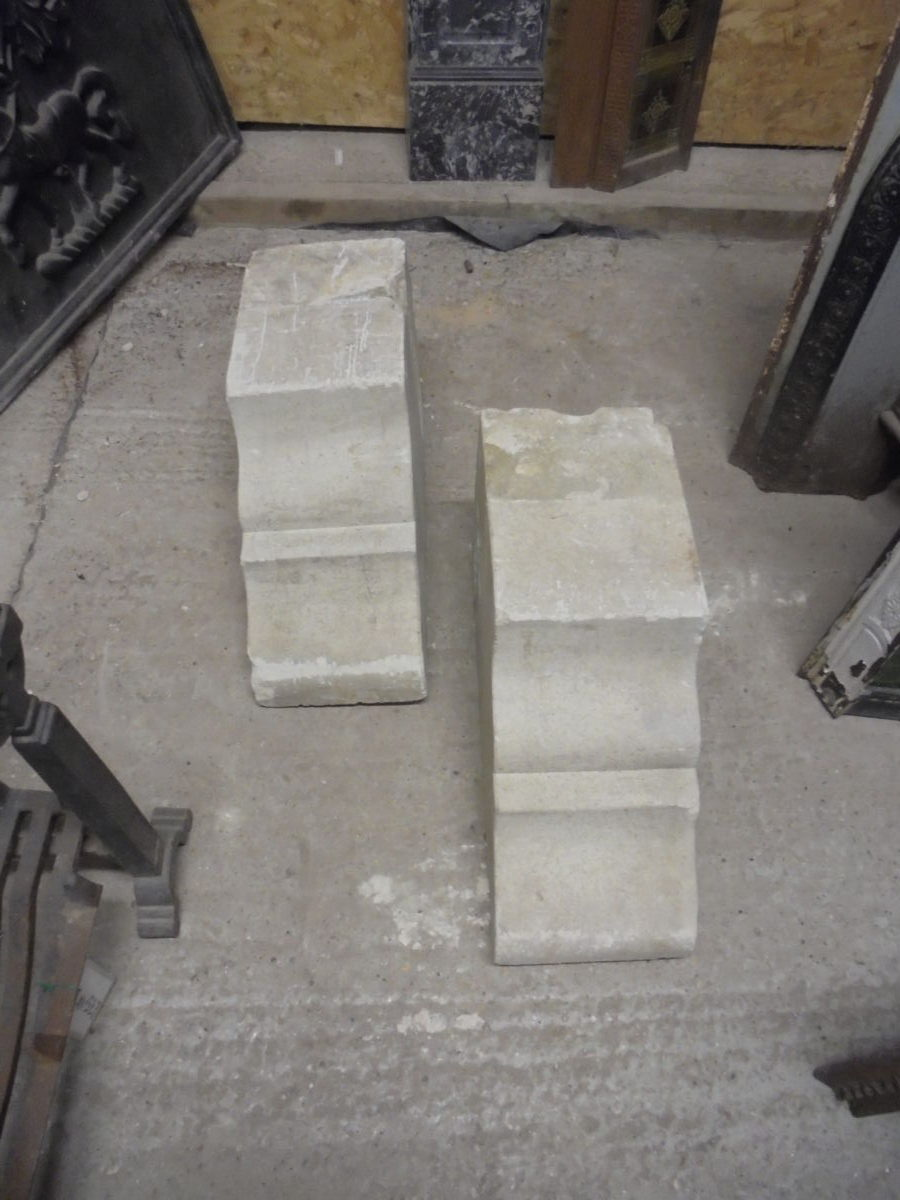 Two Decorative Corbels