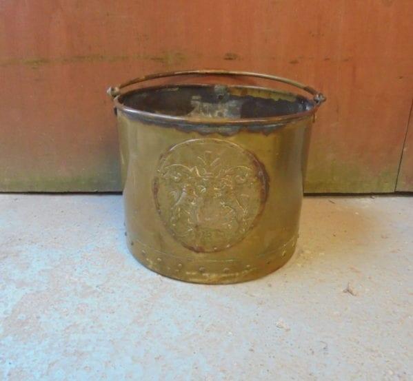 Large Round Coal Bucket