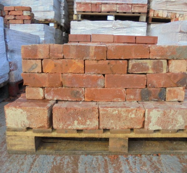 Reclaimed 3 Inch Wire Cut Bricks