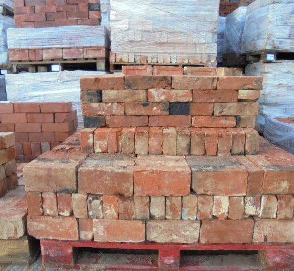 Reclaimed Handmade Soft Orange Bricks