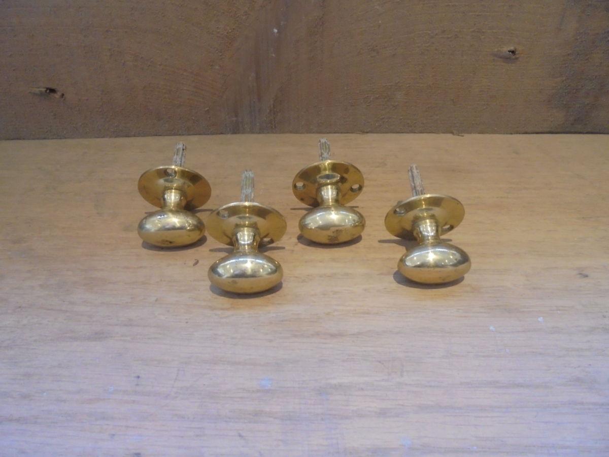 Set of Four Cupboard Door Knobs