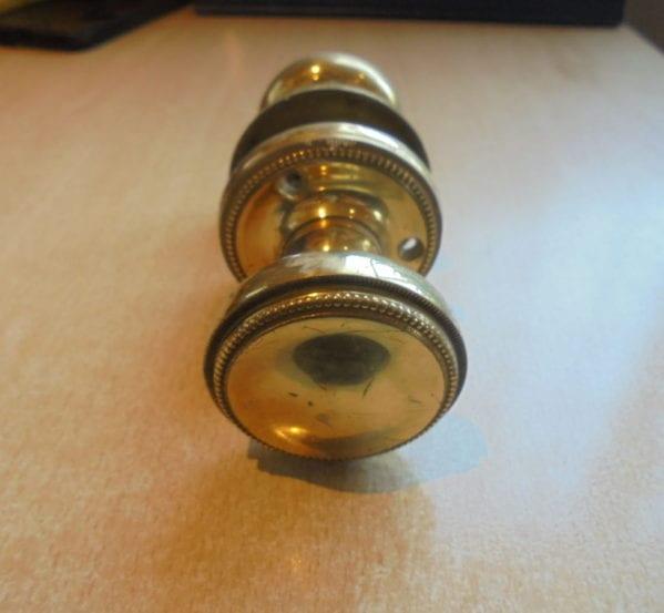 Detailed Solid Brass Door Knobs