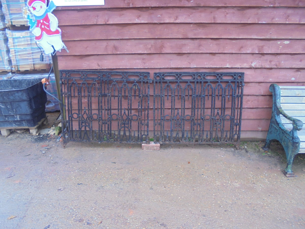 Cast Iron Decorative Gates