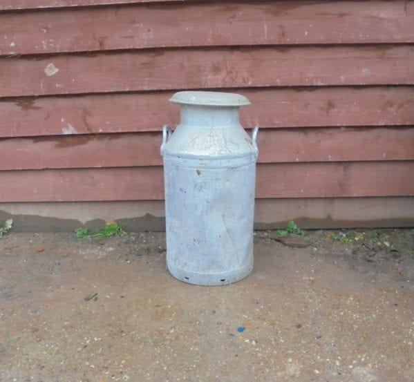 Large Reclaimed Milk Churn