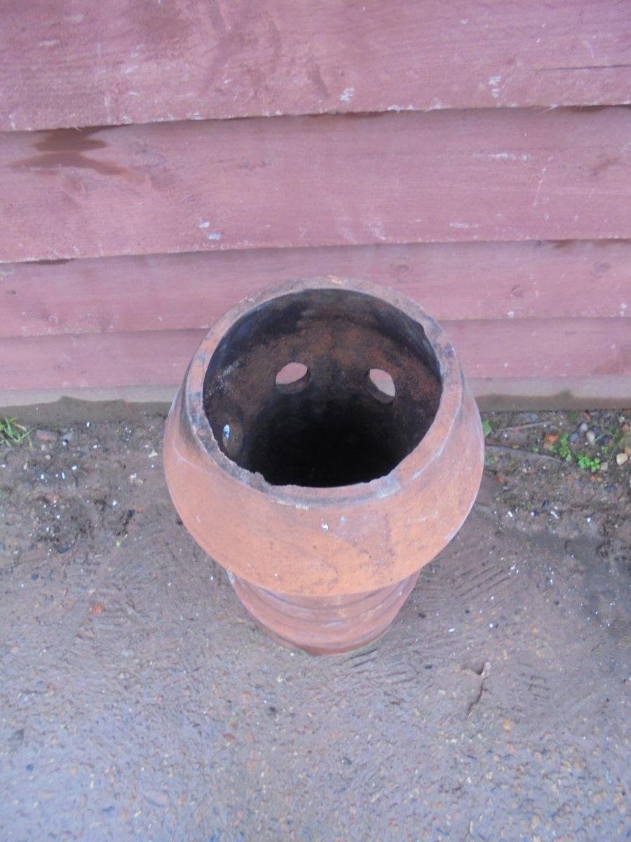 Decorative Terracotta Chimney Pot