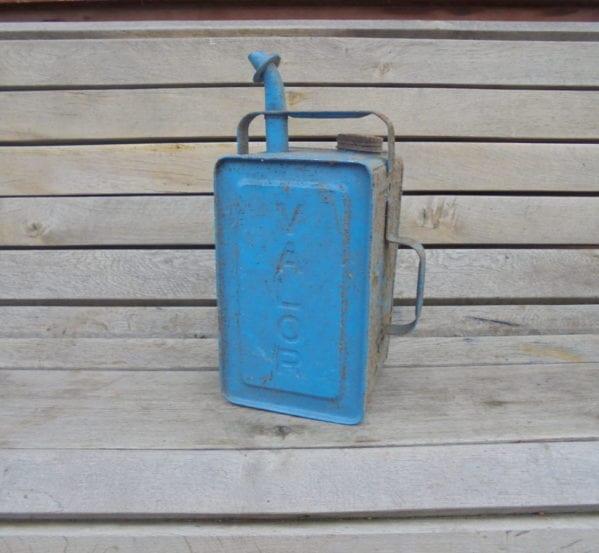 Vintage Valor Paraffin Fuel Can