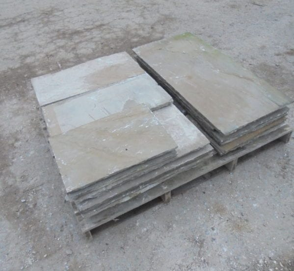 Reclaimed Indian Sandstone Slabs