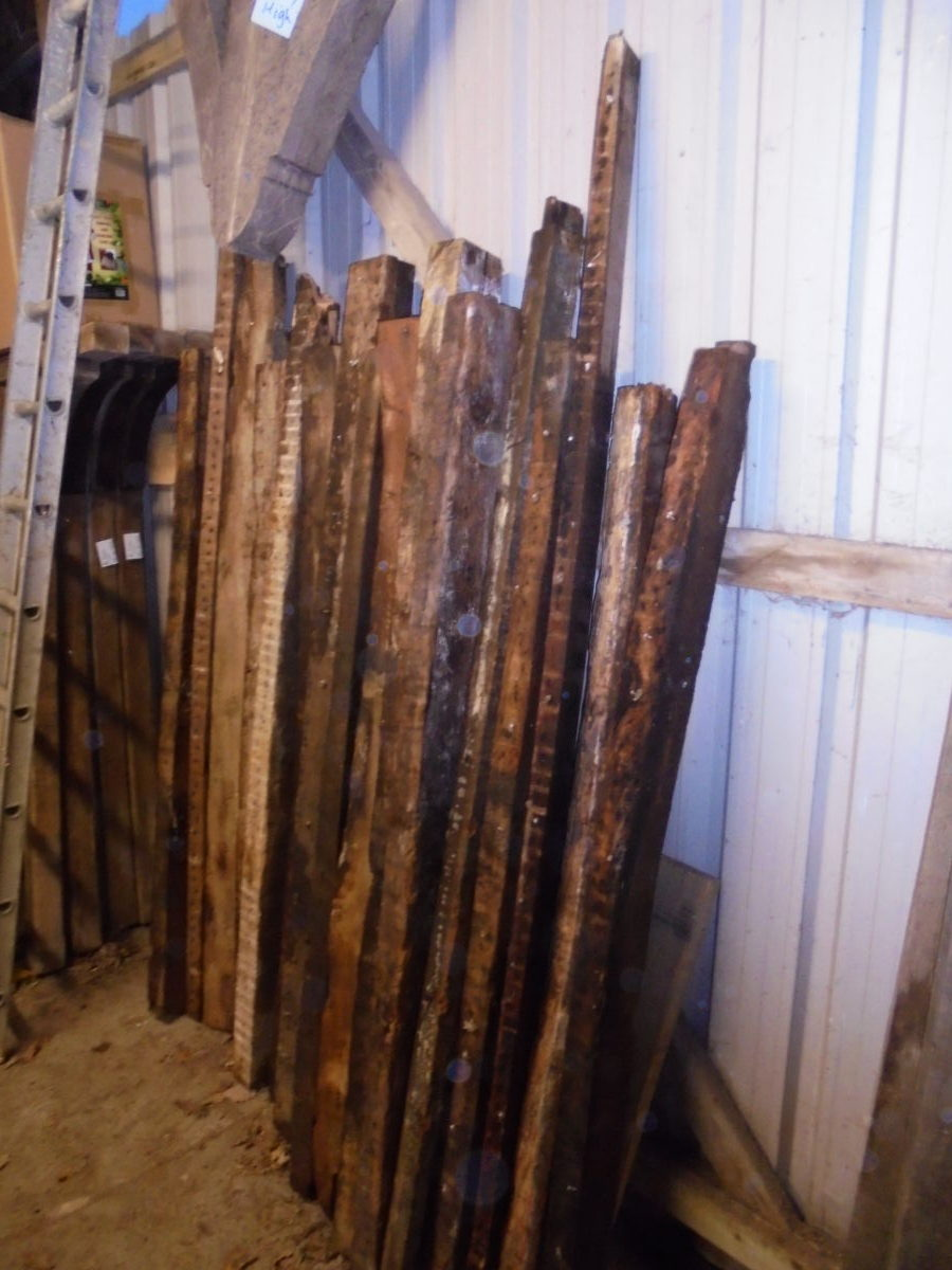 Reclaimed Varied Oak Rafters