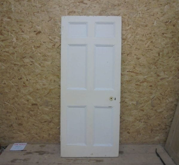 6 Panelled Painted Door