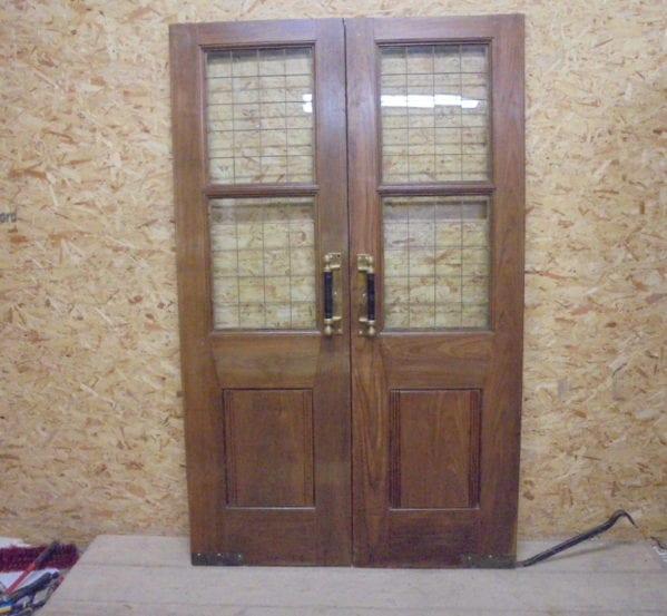 Oak Solid Double Doors