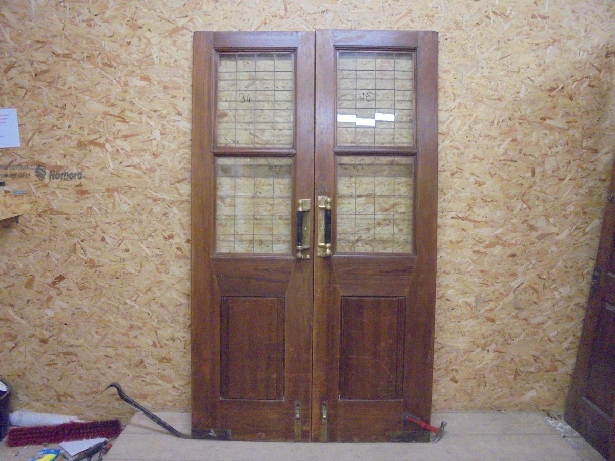 Double Doors Solid Oak