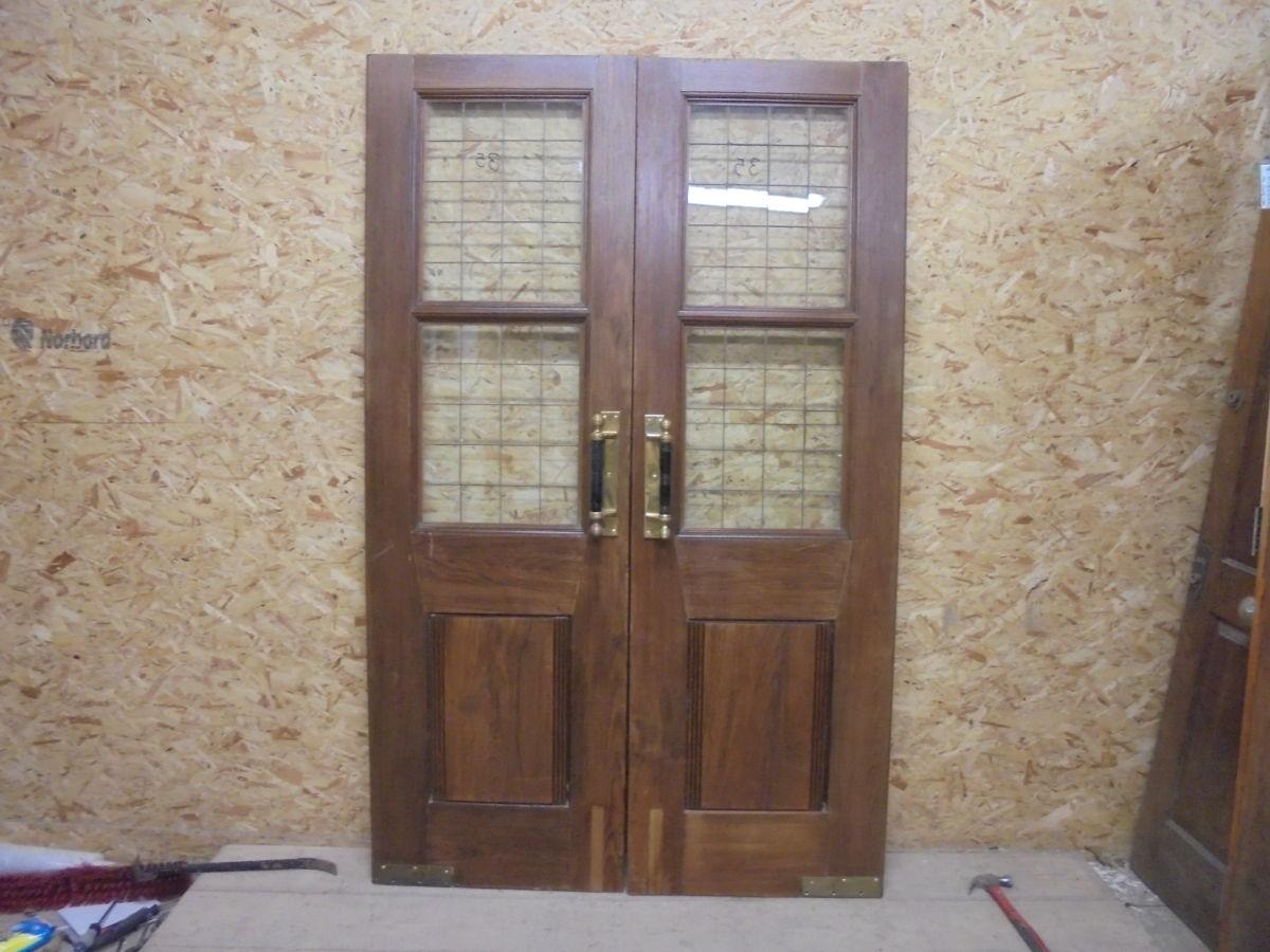 Oak Double Pub Doors