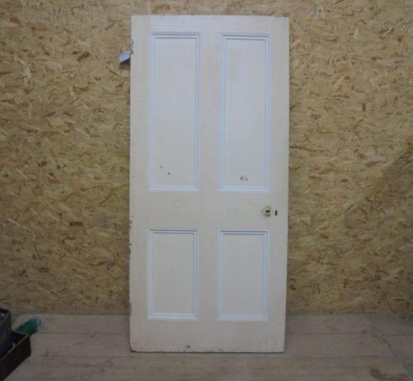 4 Panelled Door (slight damage)