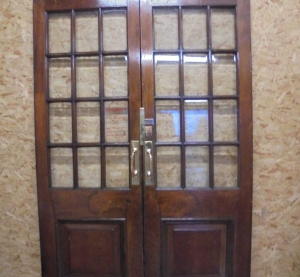 Reclaimed Knightsbridge Oak Double Doors