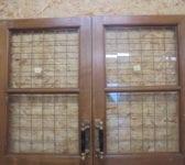 Large Wide Half Glazed Solid Oak Door