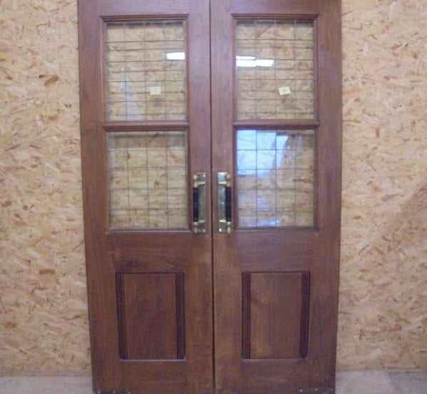 Half Glazed Solid Oak Door