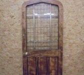 Beautiful Half Glazed Solid Oak Door