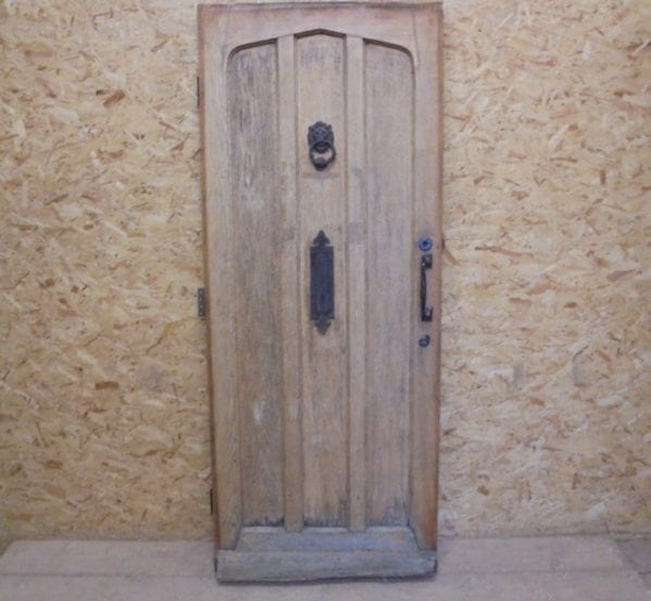 Solid Oak Painted Front Door