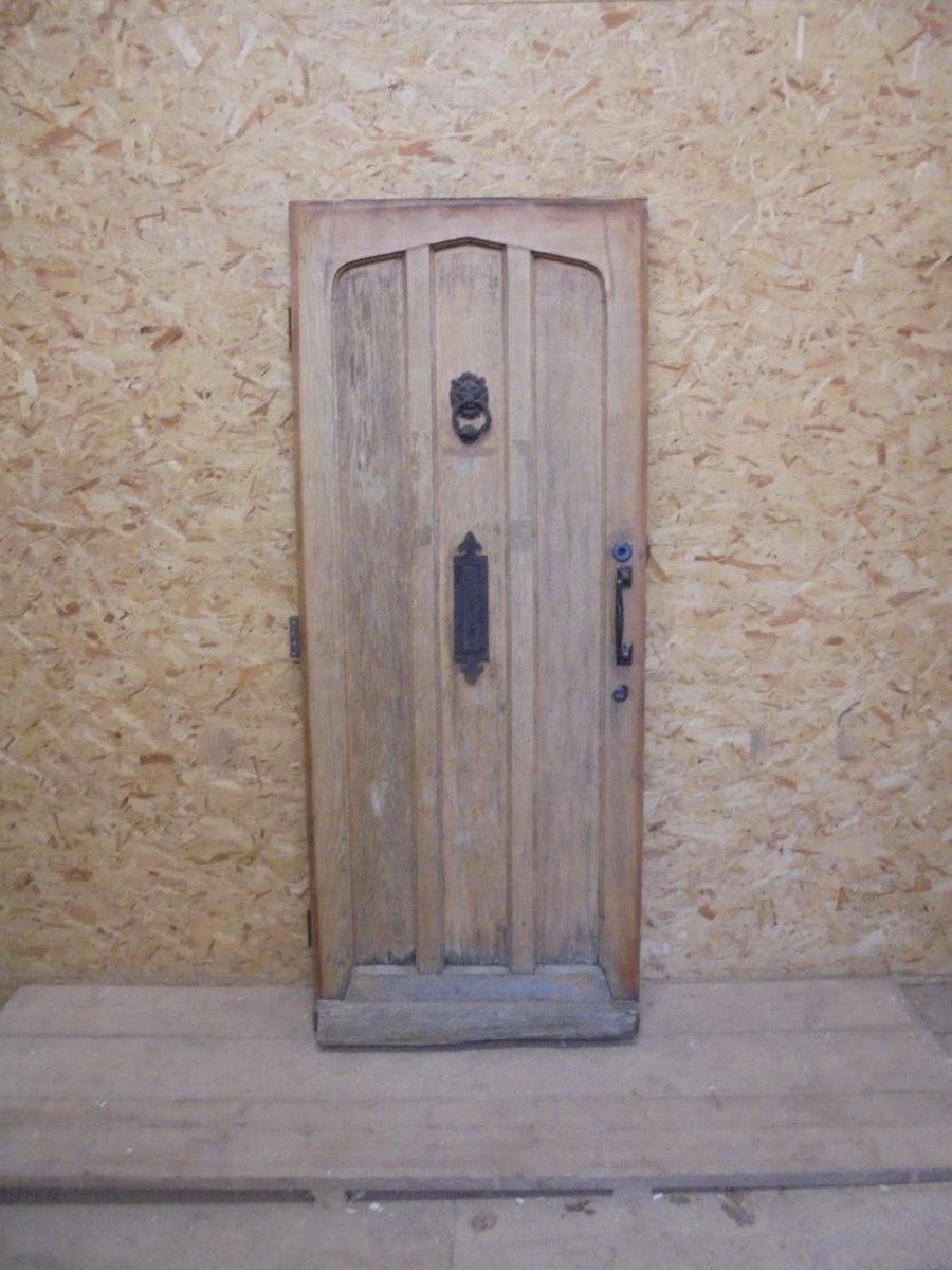 Solid Oak Painted Front Door