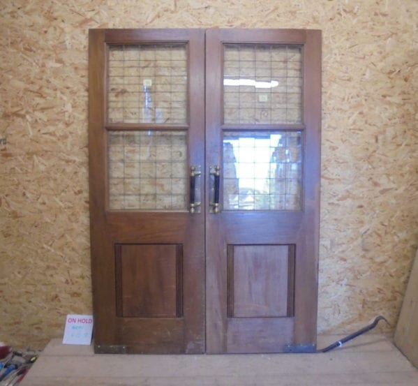 Pub Solid Oak Double Doors