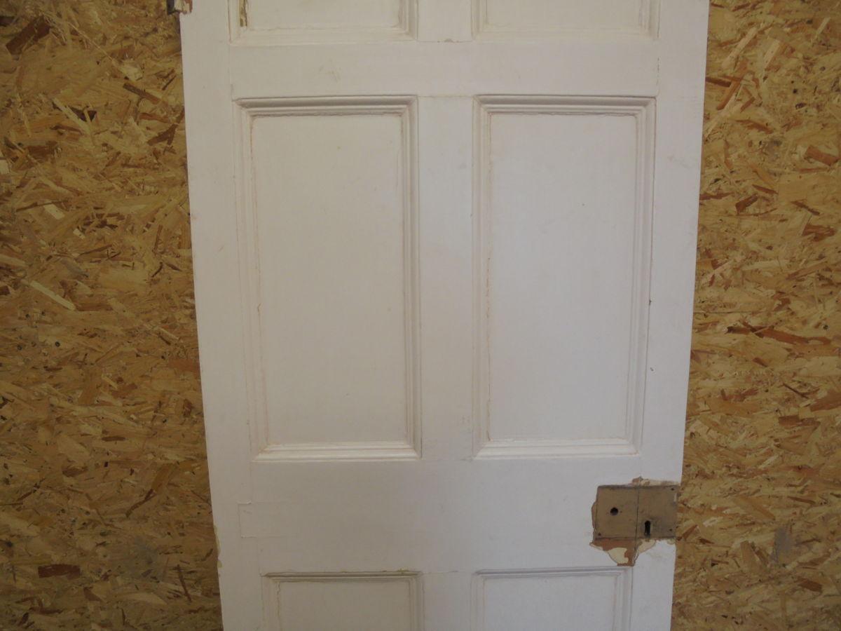 Lovely White 6 Panelled Door