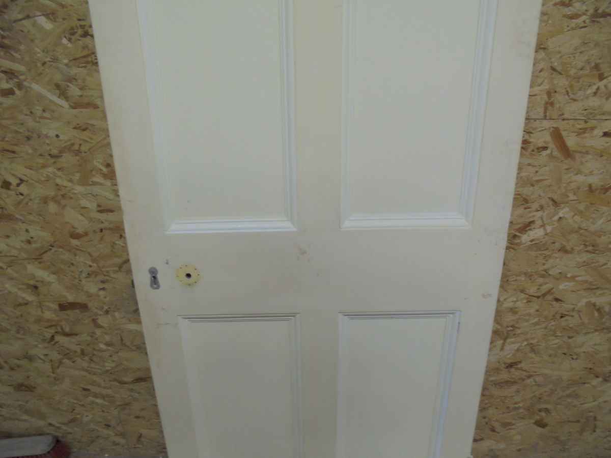 Cream Painted 6 Panelled Door