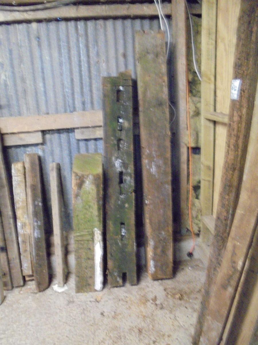 Pefect Mantlepiece Reclaimed Oak Rafters