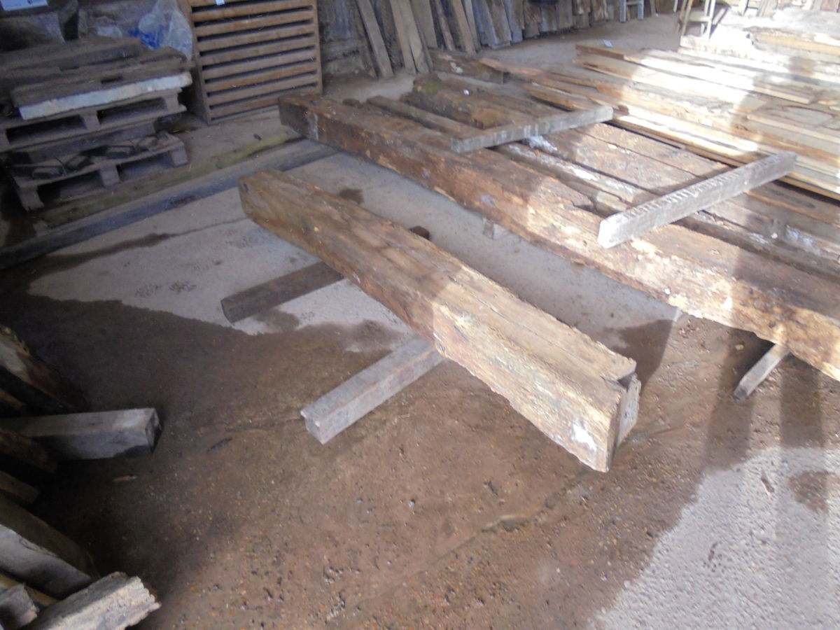 Reclaimed Large Oak Beam