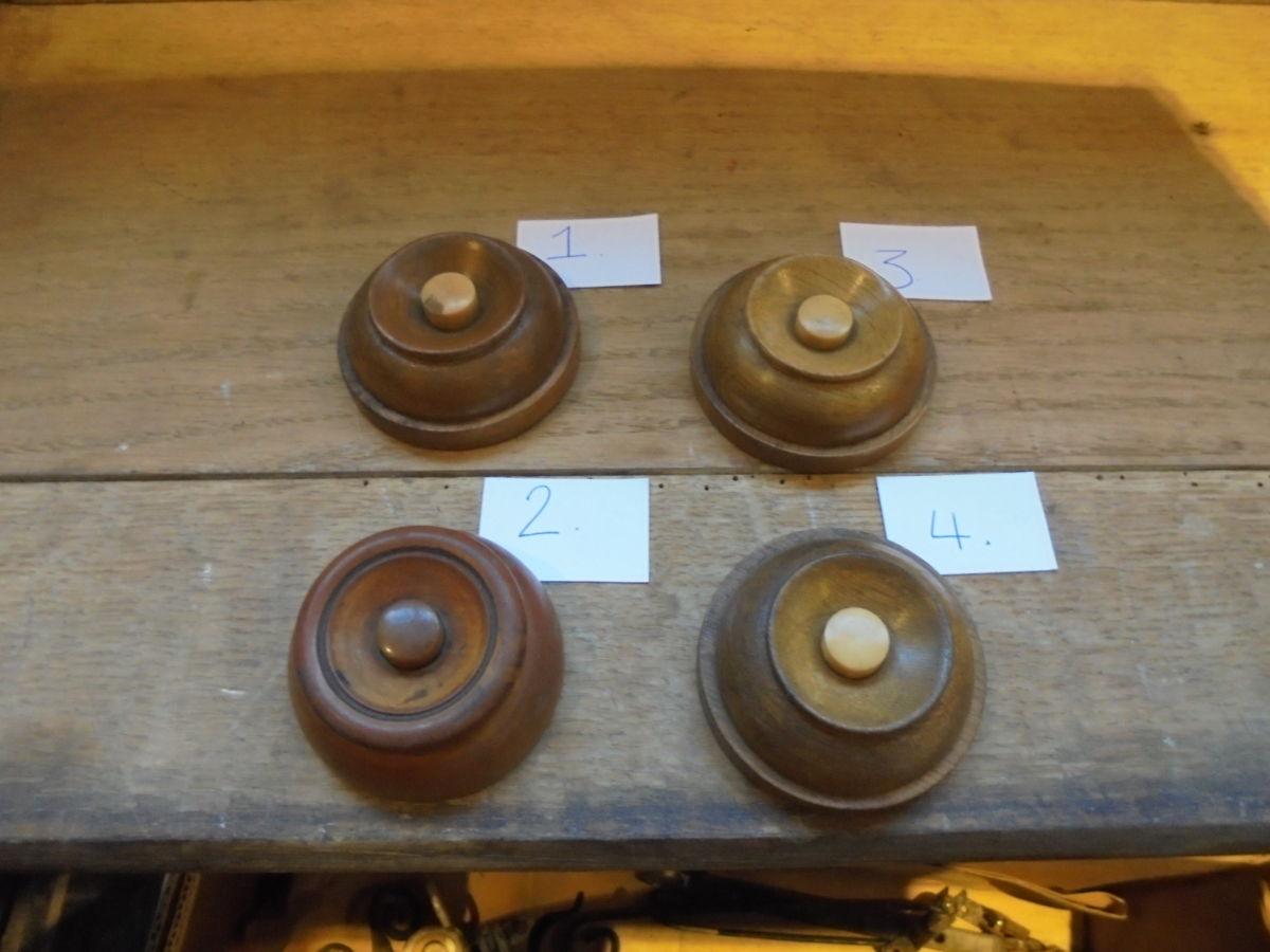 Selection of Wooden Door Bells
