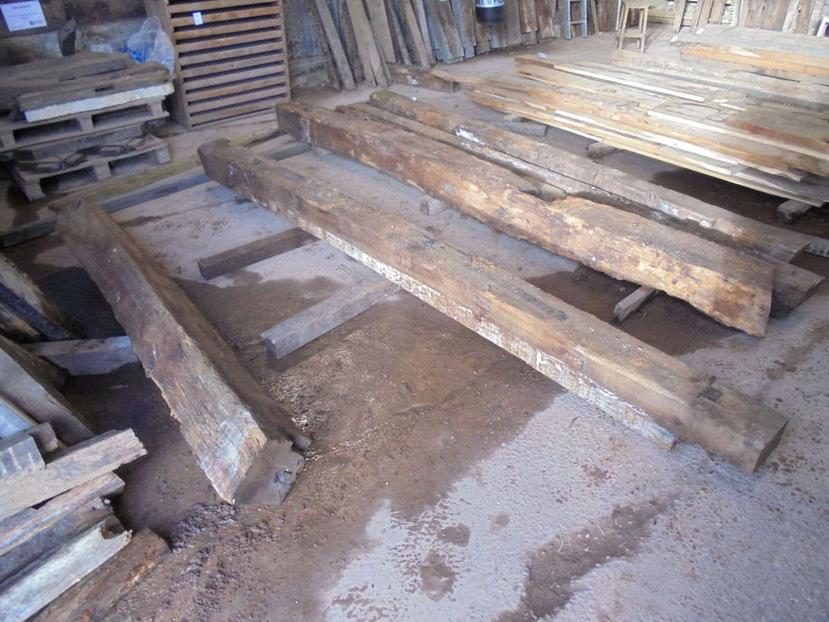 Large Oak Beam Reclaimed