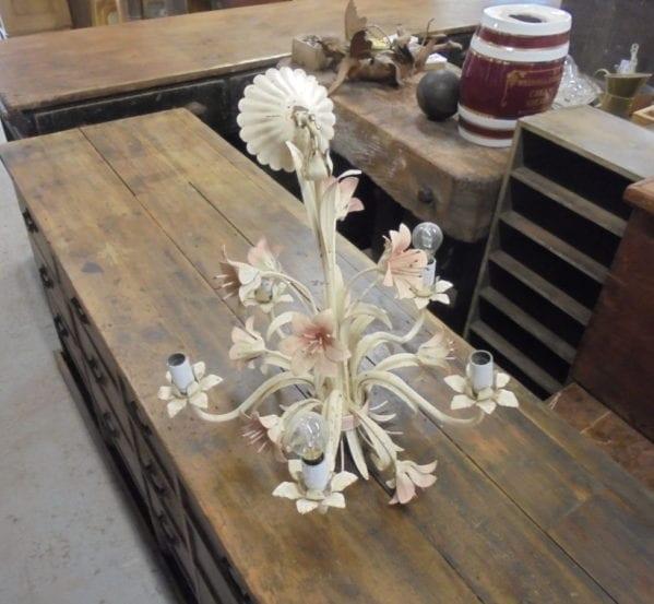 Floral Kitsch Chandelier