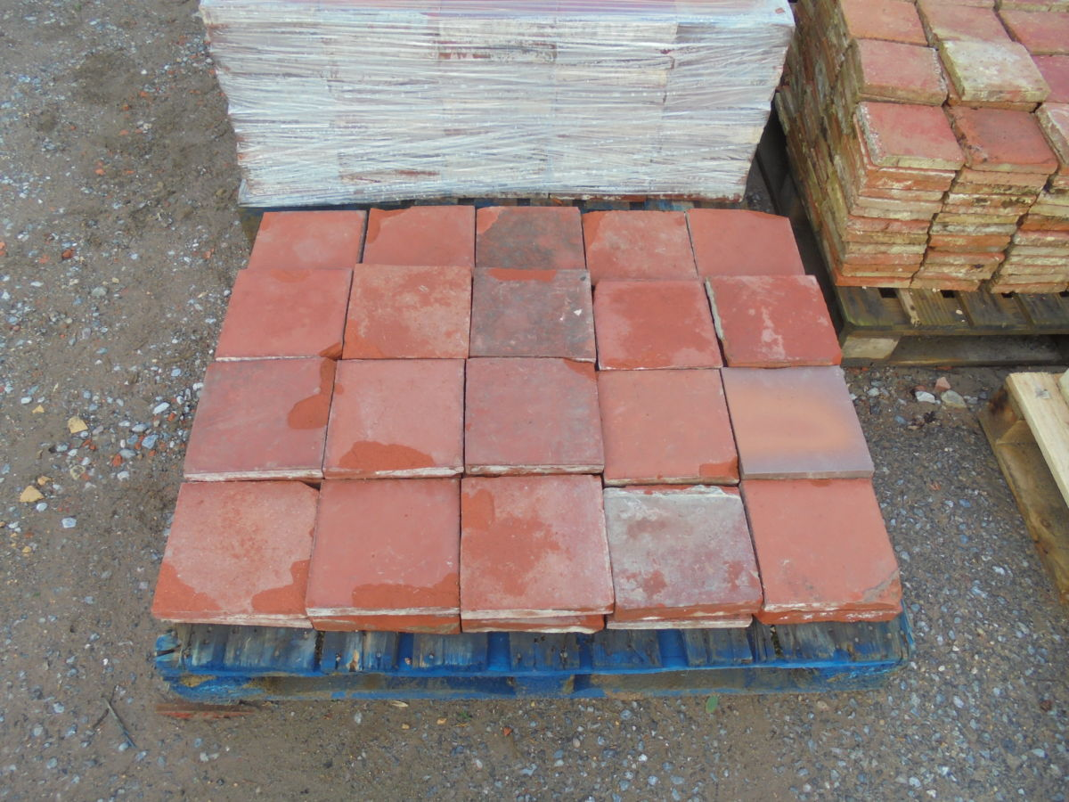 Damaged Quarry Tiles