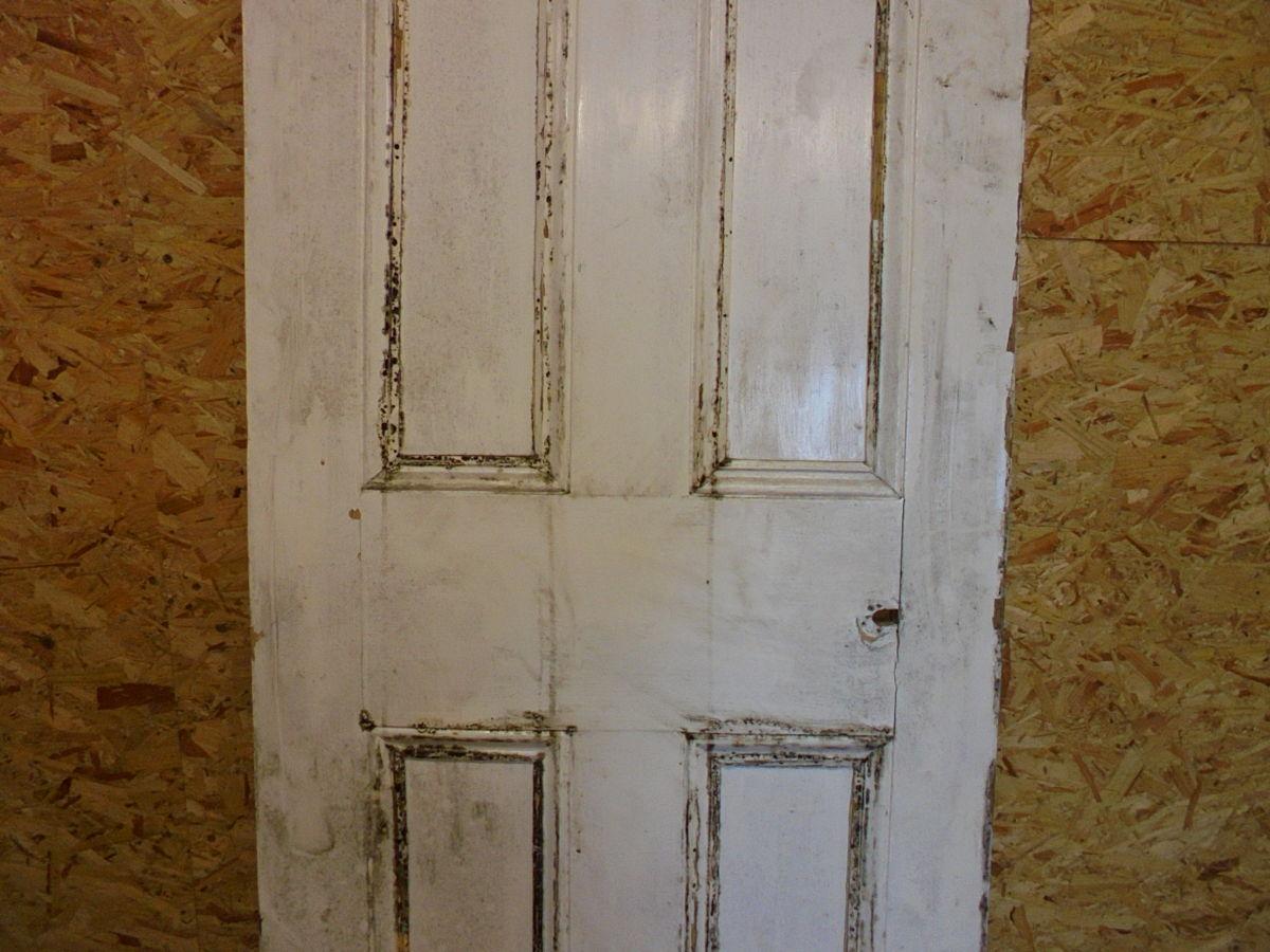 Medium White 4 Panelled Door