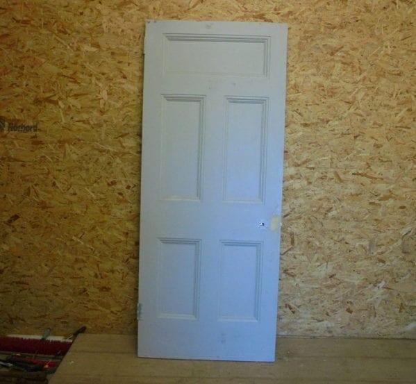 Coloured 5 Panelled Door