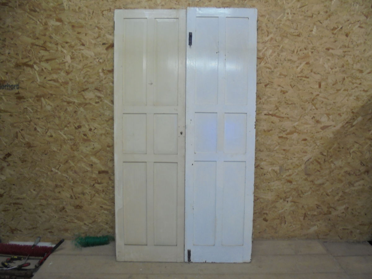 White 6 Panelled Cupboard Doors