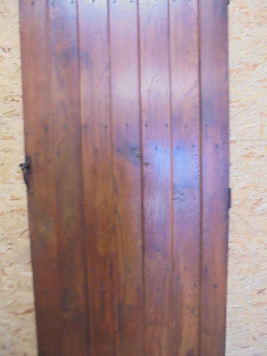 Oak Ledge & Braced Door