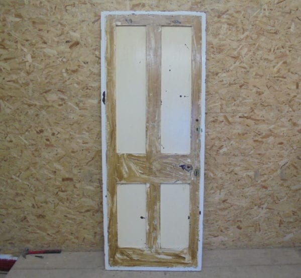 Stained 4 Panelled Door