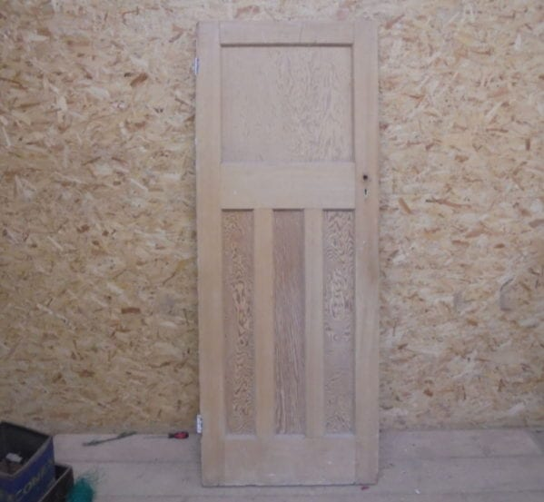 Stripped 1 over 3 Panelled Door