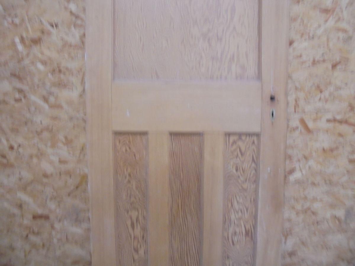 Stripped 1 over 3 Panelled Door