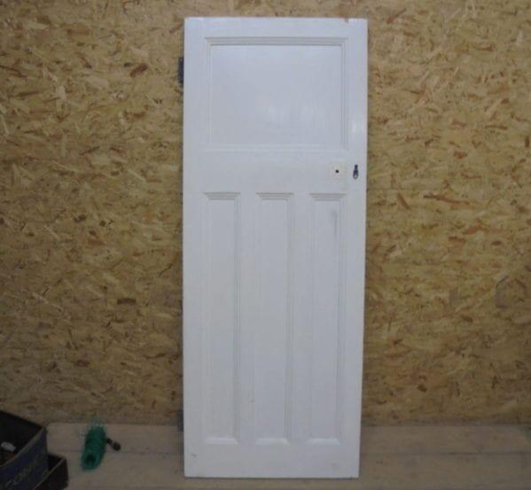 Nice White 1 Over 3 Door