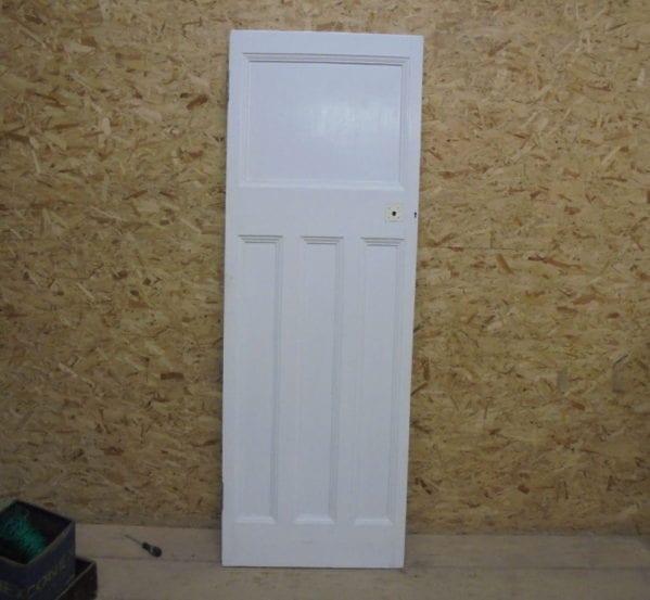 White Nice 1 Over 3 Door